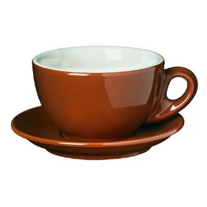 Palermo Style Latte Cups Brown By Nuova Point by Nuova Point