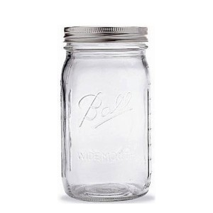 Ballテつョ 1 Quart Wide-mouth Canning Jar (32 Oz.) by Ball