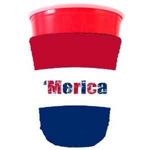 Coolie Junction Merica Colors Solo Cup Coolie by Coolie Junction