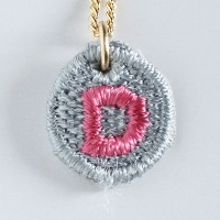 Embroidery Necklace コトダマ D