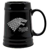 SD toys - Game of Thrones - Chope céramique Noir - Stark Winter is coming - 8436541028975