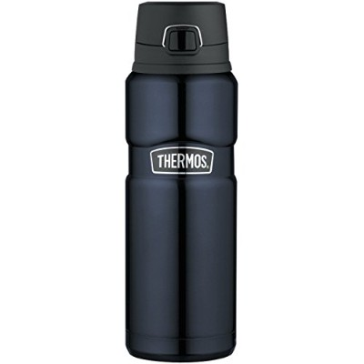 Thermos Stainless King 24-Ounce Drink Bottle, Midnight Blue [並行輸入品]