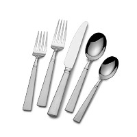 Mikasa Simpatico 65-Piece Stainless Steel Flatware Set with Serveware, Service for 12 by Mikasa