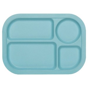 Now Designs Ecologie Lunch Tray, Turquoise by Now Designs