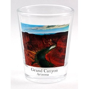 Grand Canyon Arizona Photo Shot Glass by World By Shotglass