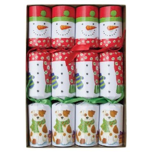 Caspari Celebration Crackers, 10-Inch, Snow Friends by Caspari