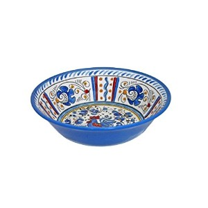 Le Cadeaux Rooster Cereal Bowl ,ブルー