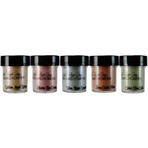 Lindy's Stamp Gang 2-Tone Embossing Powder .5oz 5/Pkg-Nantucket Pearls (並行輸入品)