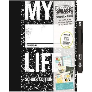 "SMASH Fill-In-The-Blank My Life Journal 8""X10.5""-School Edition (並行輸入品)"