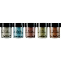 Lindy's Stamp Gang 2-Tone Embossing Powder .5oz 5/Pkg-Drink Me Silly (並行輸入品)