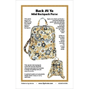 Patterns By Annie-Back At Ya Mini Backpack Purse (並行輸入品)
