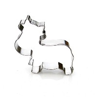 Cow Cookie Cutter- Stainless Steel by Sweet Cookie Crumbs