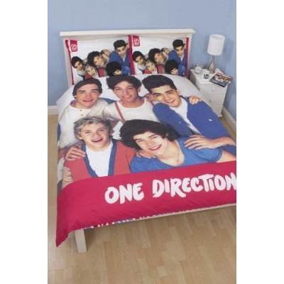 One Direction Craze Panel Double Duvet Cover by . [並行輸入品]