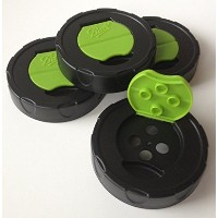 Ball Herb Shaker Caps -- 2 boxes of 2 (4 caps total) by Ball