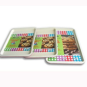 casaWare Cookie Sheet 3pc Set: Red by casaWare