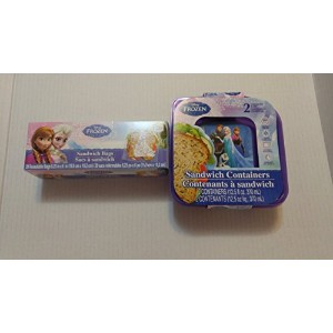 Disney Frozen Sandwich Containers and Lids by Disney