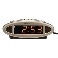 AcuRite 13027A Intelli-Time Digital Alarm Clock by AcuRite