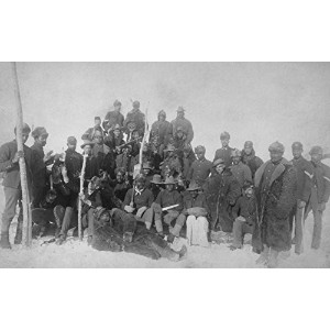 ブラックBuffalo Soldiers of the 25th歩兵写真 9 x 12 Art Print LANT-5890-9x12