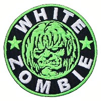 WHITE ZOMBIE Band songs t shirts MW06 Embroidery Iron on Patches by MartOnNet Music Patch