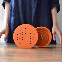 Mosquito Coil Stand 蚊遣器  作家「田中雅文」 (オレンジ)