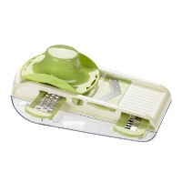 Lurch All In One Multi Purpose Mandoline V-Slicer Set With Container - Kitchen Gadgets - Food...