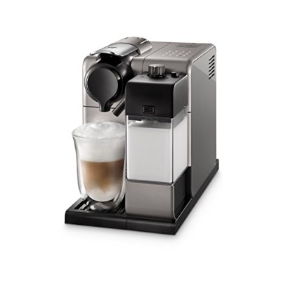 De'Longhi EN550S Lattissima Touch Nespresso Single Serve Espresso Maker, Silver by DeLonghi