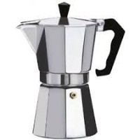 12 Cup Italian Style Expresso Coffee Maker for Use on Gas Electric and Ceramic Cooktops by DINY Home