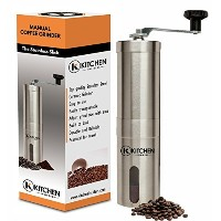 Kitchen Insiders Stainless Steel Manual Coffee Grinder by Kitchen Insiders