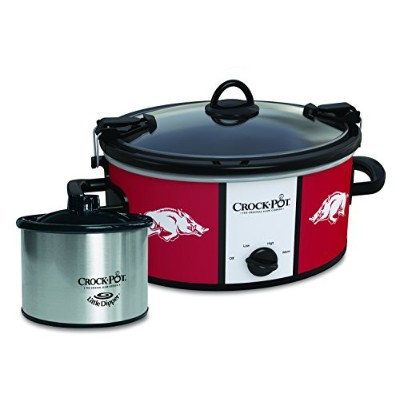 Louisiana State Tigers Collegiate crock-pot Cook & Carry Slow Cooker withボーナス473ml Little Dipper...