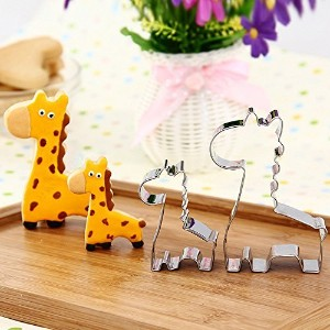 GXHUANG Cookie Cutter- Stainless Steel (Giraffe), for Anniversary Birthday Wedding Theme Party by...