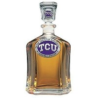 TCU Horned Frogs Decanter