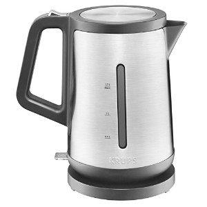 KRUPS BW442D Control Line Electric Kettle with Auto Shut Off and Stainless steel Housing, 1.7-Liter...