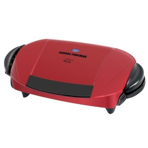 George Foreman The Next Grilleration Grill, Red by George Foreman [並行輸入品]