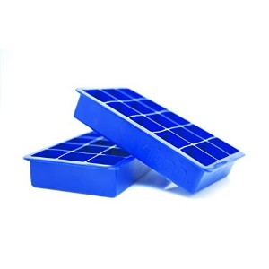 Kitch Cube Ice Tray Silicone Ice Cubes - Cobalt Blue by Kitch