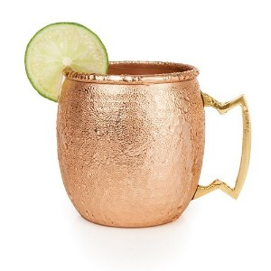 Old Kentucky Home Hammered Copper Moscow Mule Mug by Twine–( 16オンス容量)