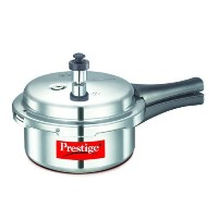 Prestige Popular Aluminium Pressure Cooker, 2 Liters by A&J Distributors, Inc. [並行輸入品]