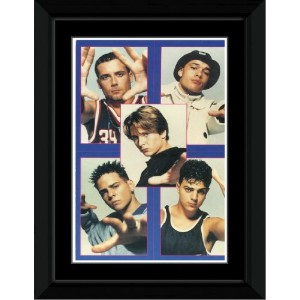Five - Collage Framed Mini Poster - 14.7x10.2cm