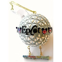 Disney World Park Epcot Christmas Ornament One Mouse One World Spaceship Earth Globe by Disney ...