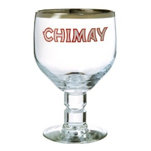 Chimay Belgian Ale Goblet / Chalice Beer Glasses 0.33l – 2のセット