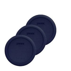 PYREX Blue 4-cup Round Plastic Cover by Pyrex