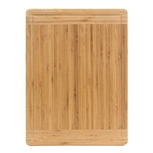 Songmics竹カッティングボードExtra Largeと厚いChopping Board withジュースのGroove、カット、Chop、準備、and Serve ukab42y