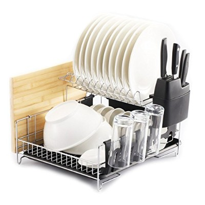 PremiumRacks Professional Dish Rack - Fully Customizable - Large Capacity - Modern Design by...