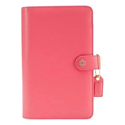 (Light Pink) - Webster's Pages WBPA5001.LP Webster's Pgs Colour Crush Binder A5 Light Pink Ccrush...