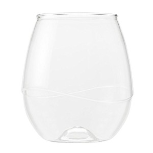 Takeya Swirl Shatterproof Reusable Wine/Cocktail Tumblers, Set of 6 [並行輸入品]