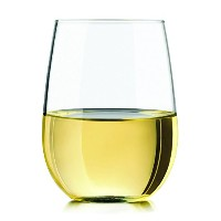 Libbey 89694 Vina Stemless White Wine Glasses (Set of 4), 17 oz, Clear [並行輸入品]