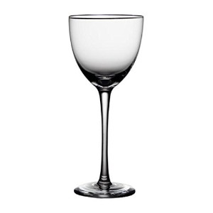 Noritake Palais Platinum Wine Glass, Clear, Set of 4 [並行輸入品]