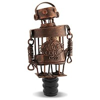 Epic Products Cork Cage Robot Bottle Stopper, 5.25-Inch [並行輸入品]