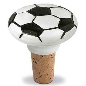 Epic Products Soccer Ceramic Bottle Stopper, 2.25-Inch [並行輸入品]