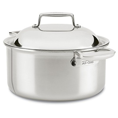 All-Clad SD755086 18/10 D7 Stainless Steel 7-Ply Bonded Construction Dishwasher Safe Oven Safe...
