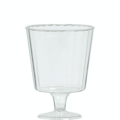 Amscan Disposable Premium Quality Boxed Wine Glasses (24 Pack), 5 oz, Clear [並行輸入品]